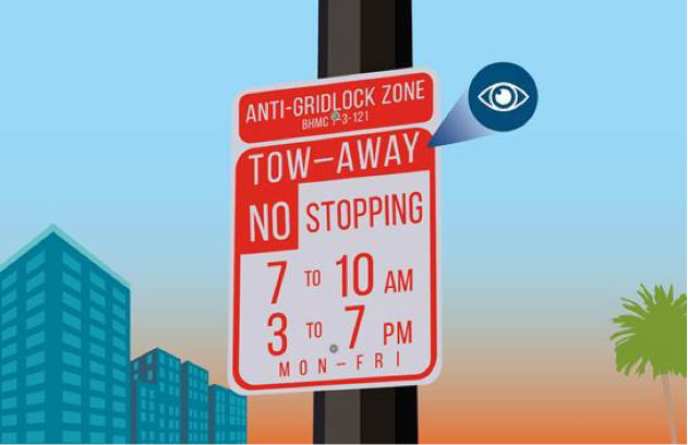 Anti-Gridlock Tow-Away Zones