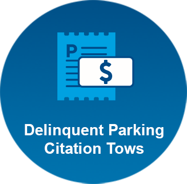 Delinquent Parking Citation Tows